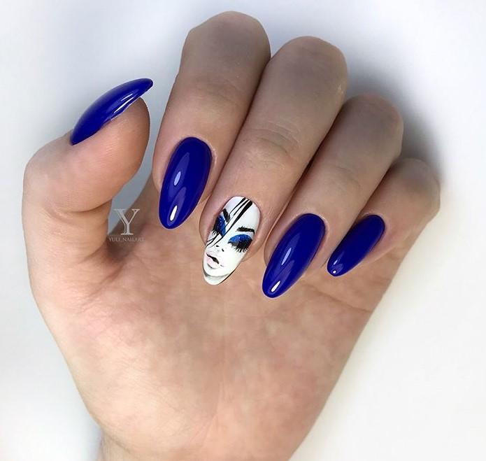 Девушка на ногтях фото 10