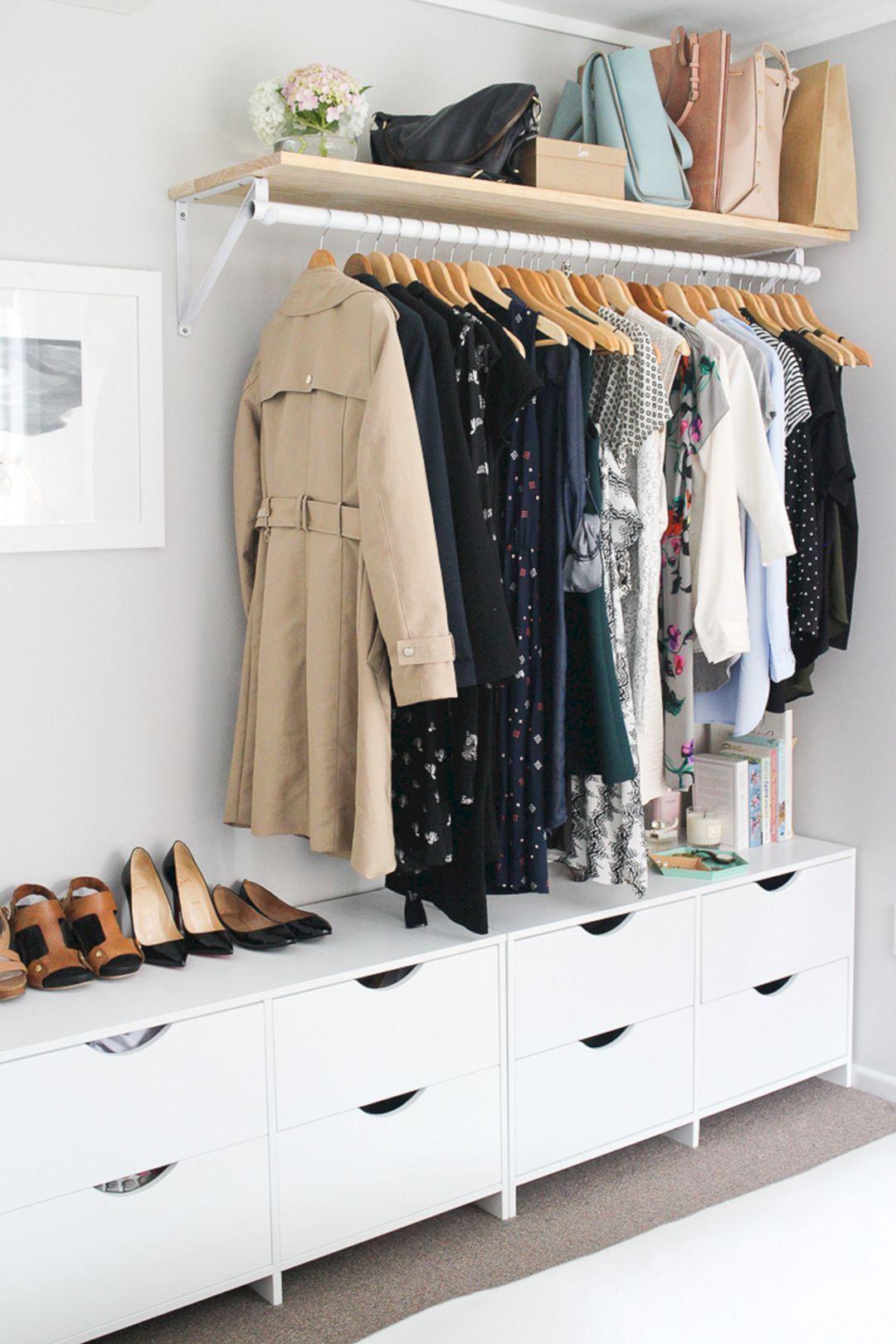 гардеробная в маленькой квартире фото 1