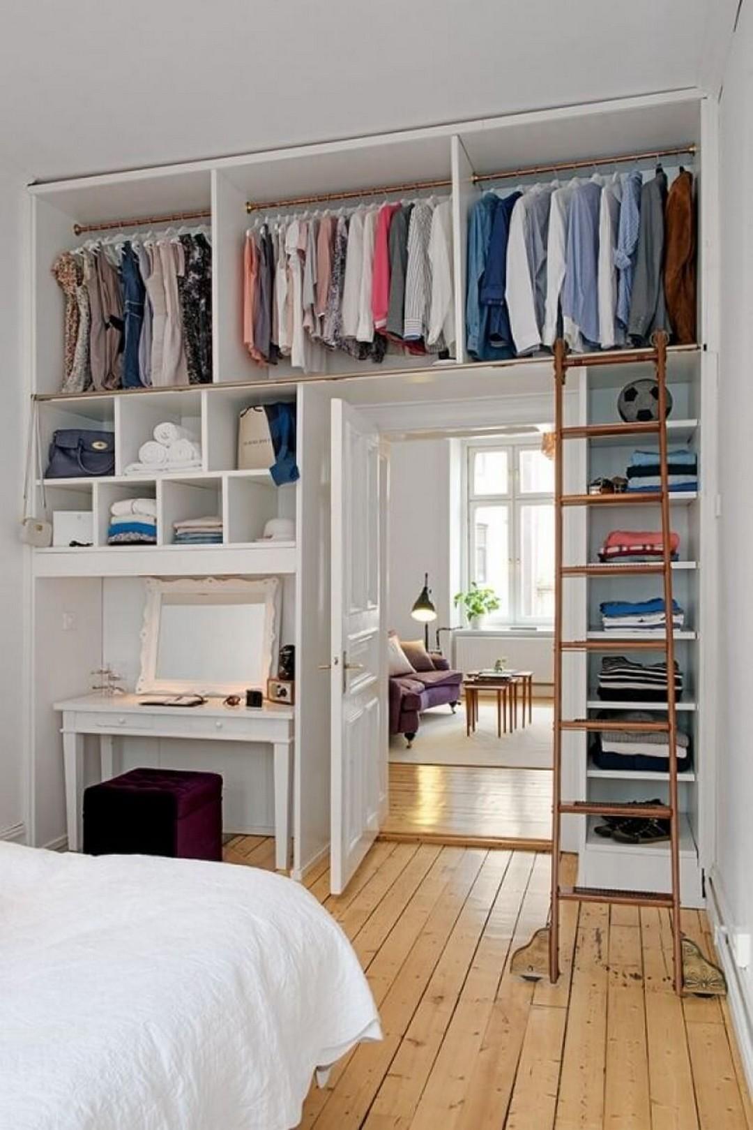 гардеробная в маленькой квартире фото 3