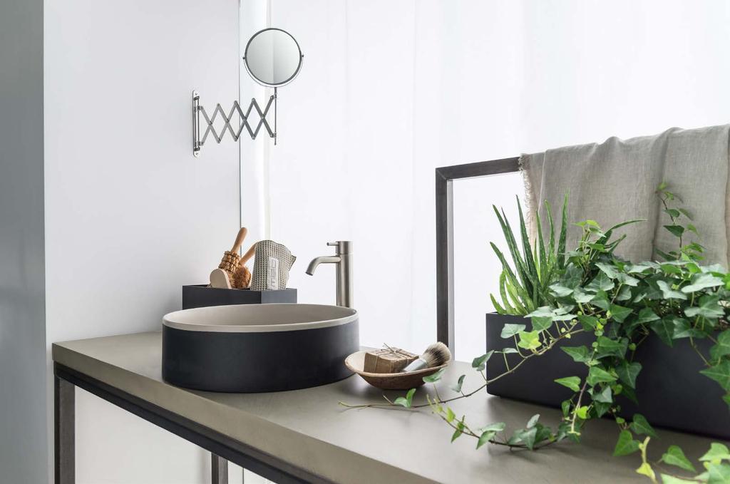 Декор интерьера ванной комнаты фото 2