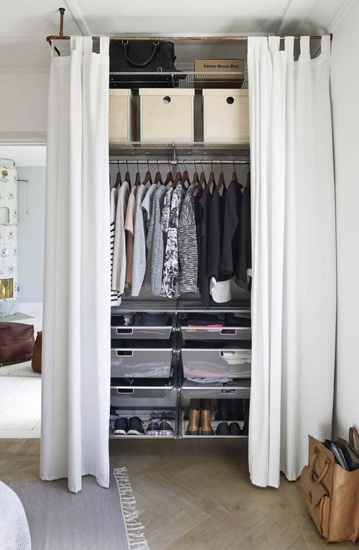 гардеробная в маленькой квартире фото 7