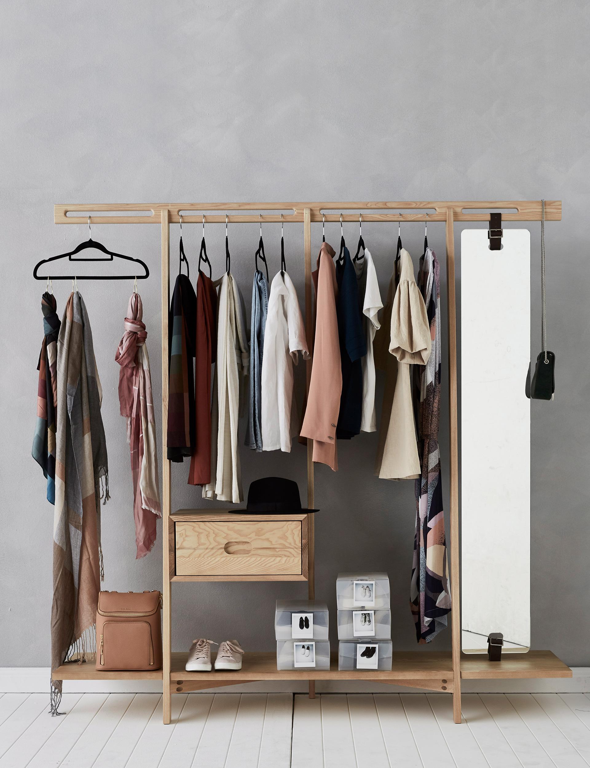 гардеробная в маленькой квартире фото 16
