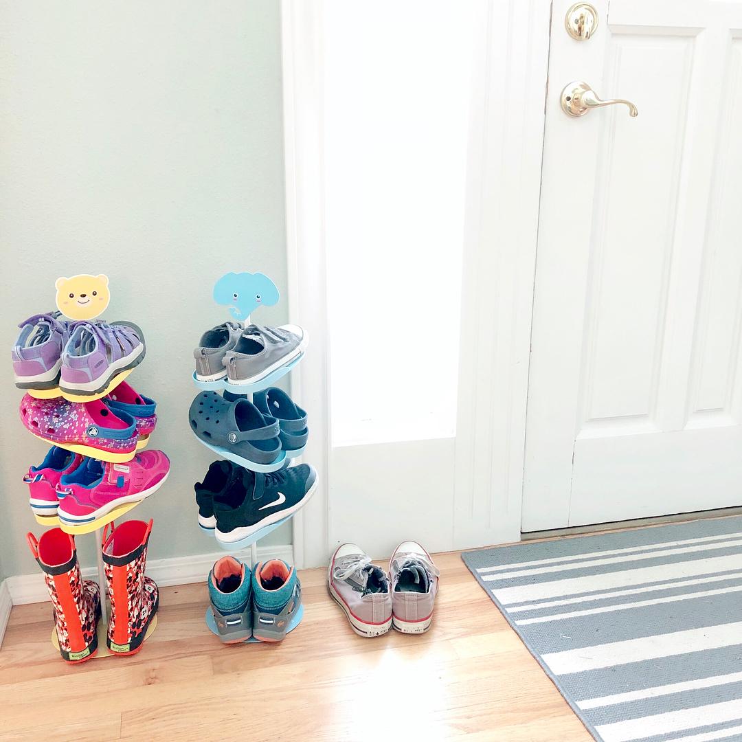 решения для хранения обуви фото 16