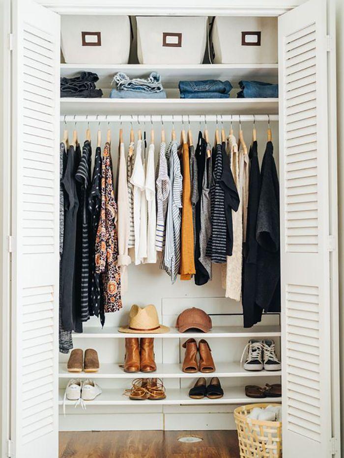 гардеробная в маленькой квартире фото 14