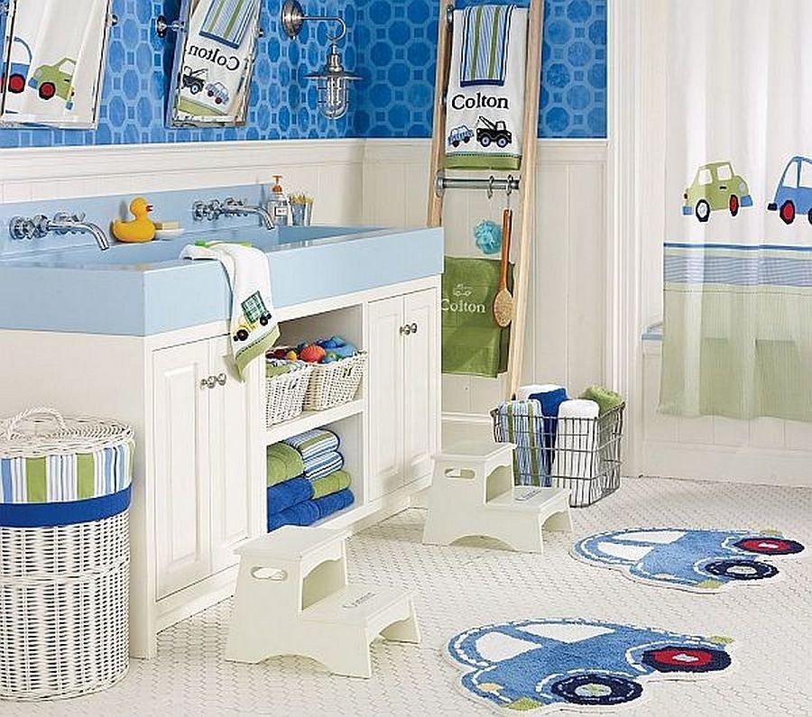 пространство в ванной комнате для детей фото 5