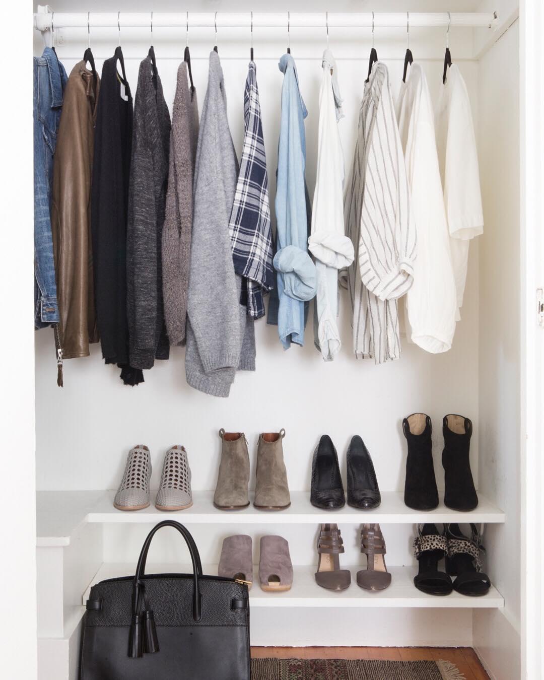 Организация пространства в гардеробной фото 3