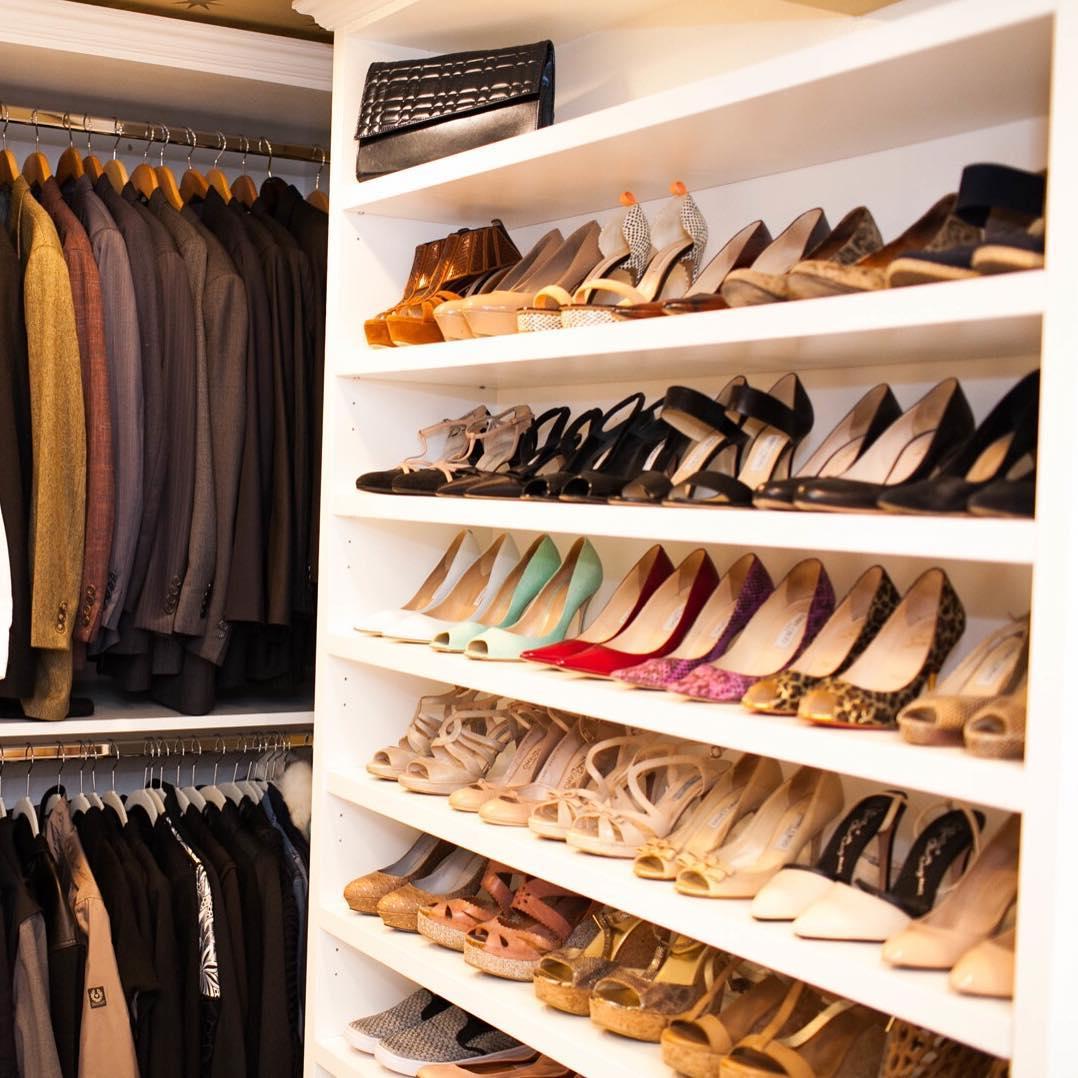 Организация пространства в гардеробной фото 2