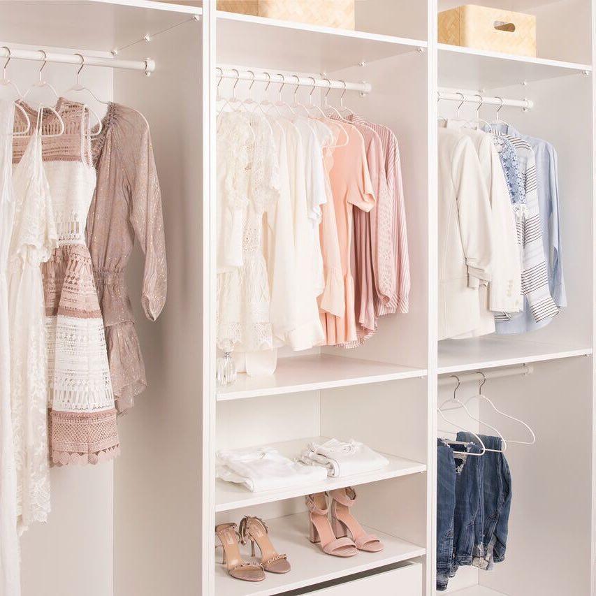 Организация пространства в гардеробной фото 13