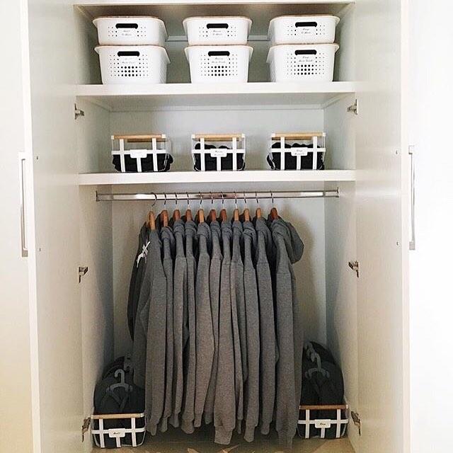 Организация пространства в гардеробной фото 8