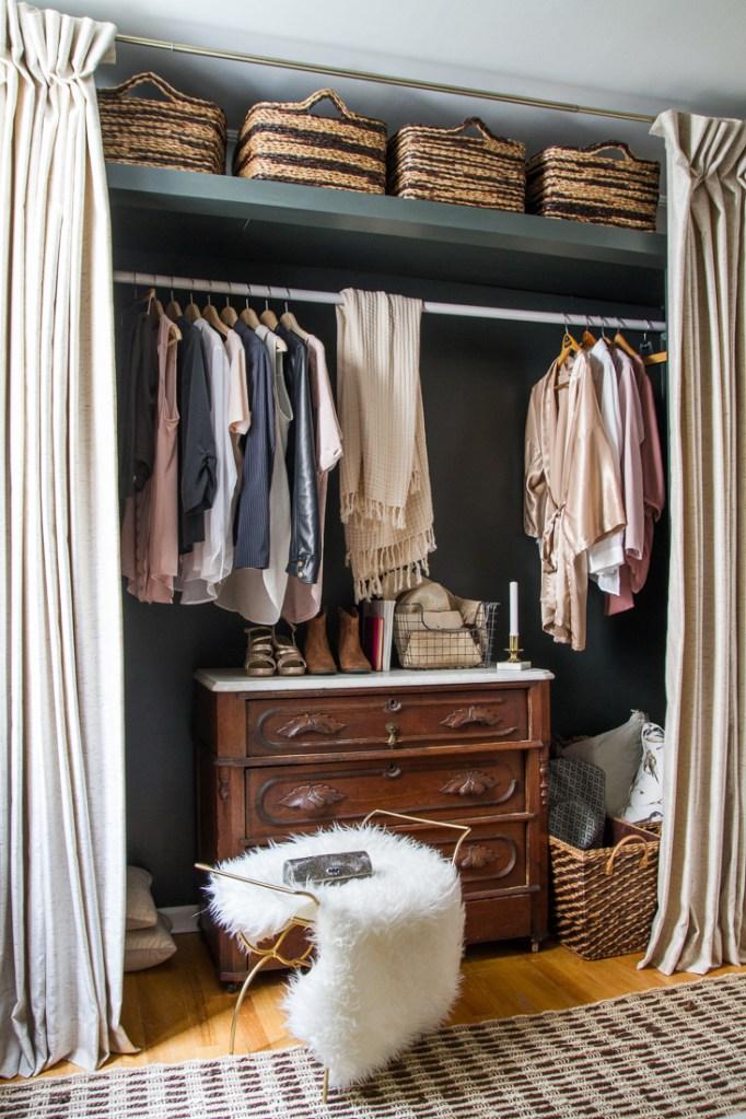 гардеробная в маленькой квартире фото 2