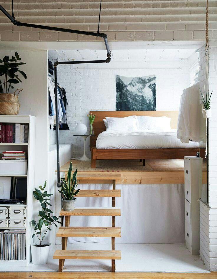 кровати в стиле лофт фото 16