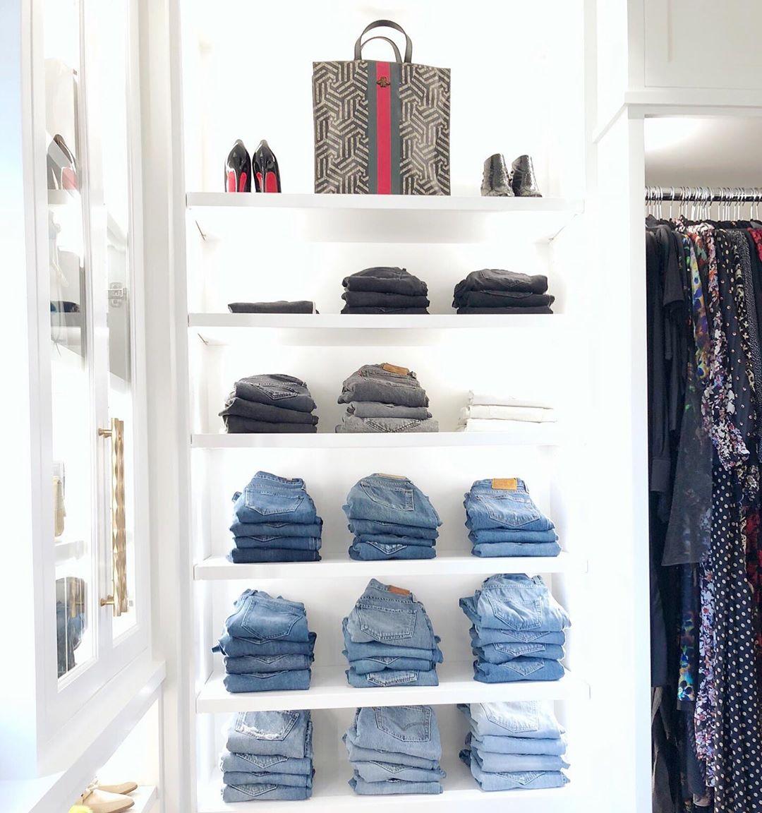 Организация пространства в гардеробной фото 6