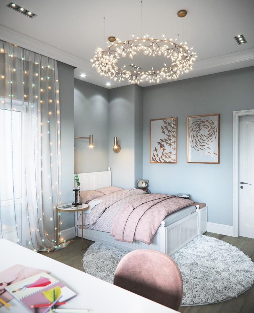 интерьер спальни для подростков фото 3