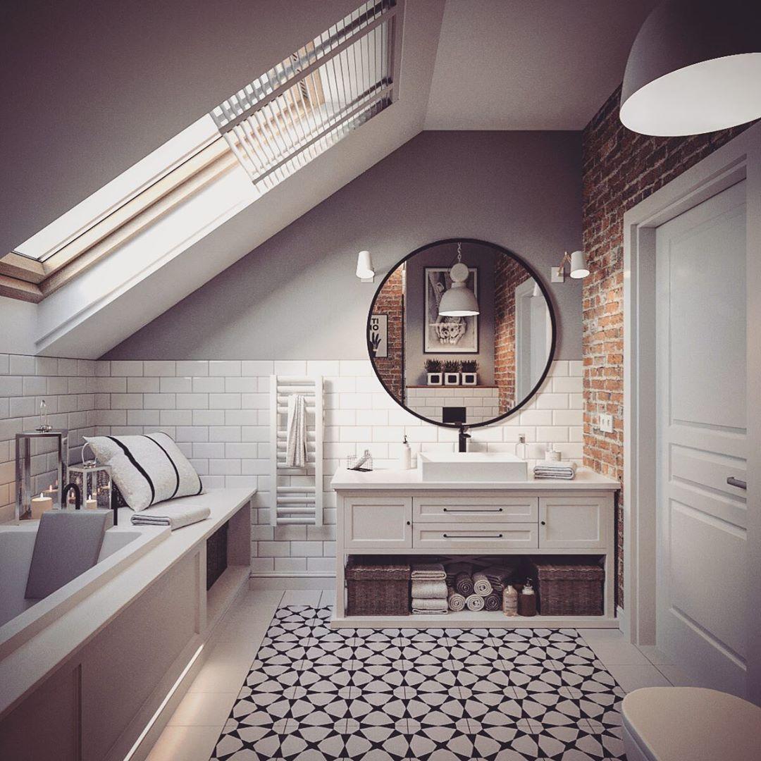 Декор интерьера ванной комнаты фото 8