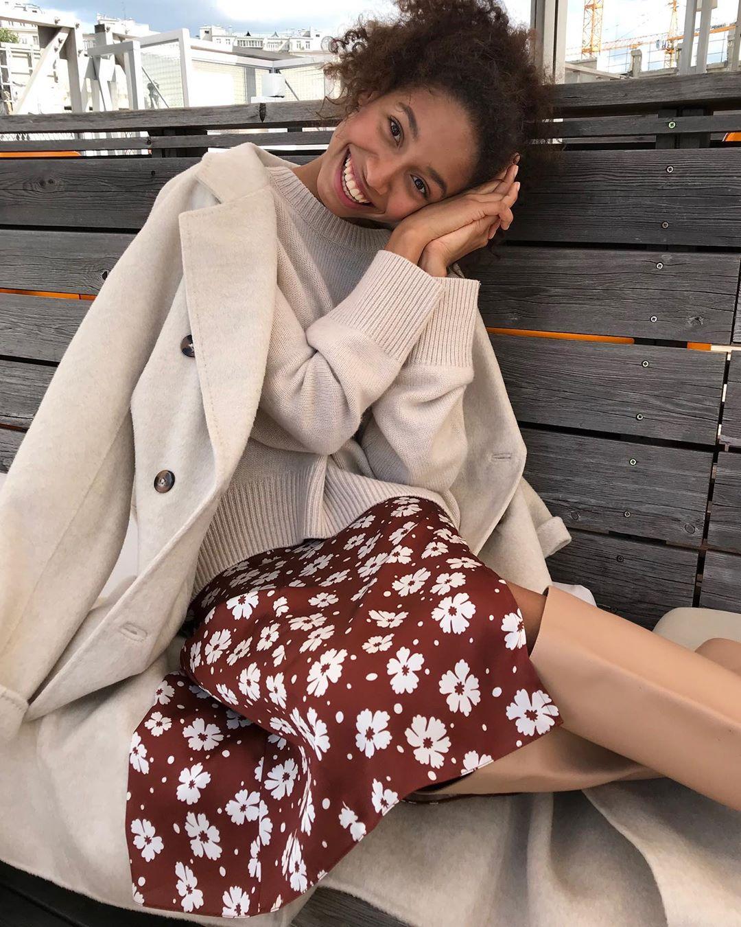 с чем носить юбку зимой фото 1