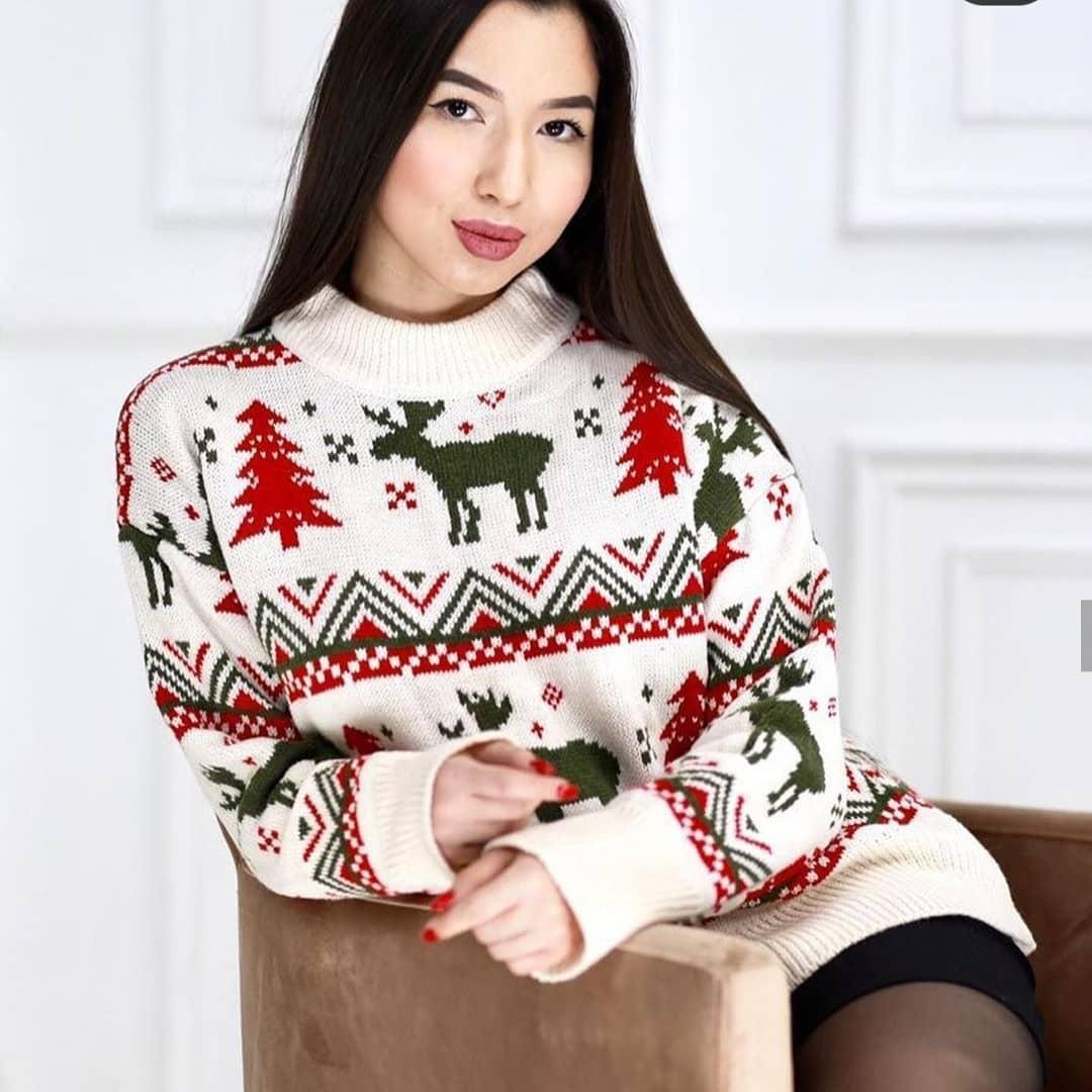 Новогодние свитера фото 16
