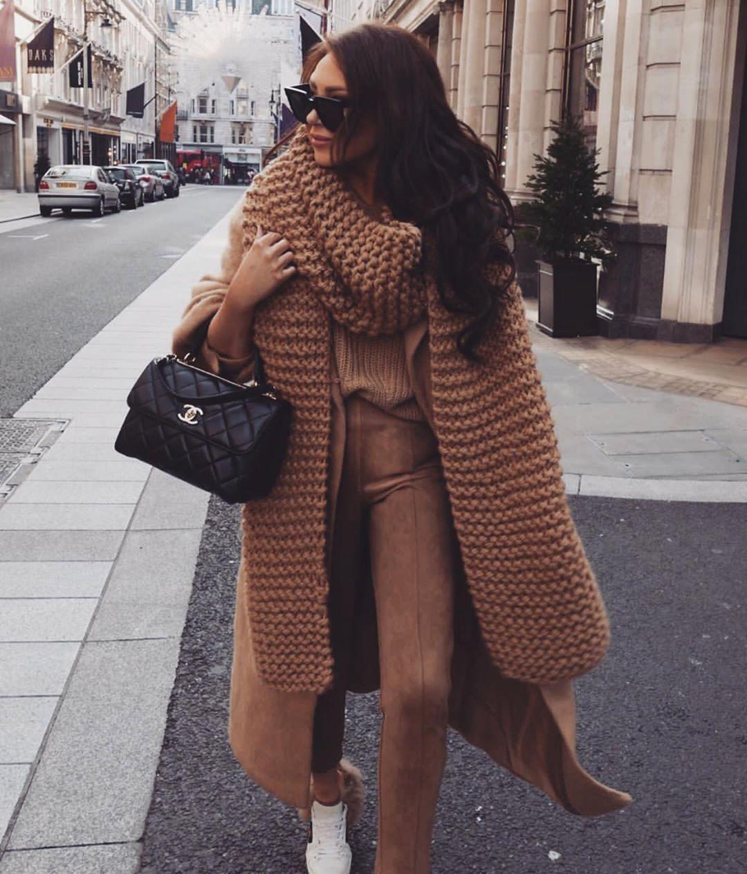 с чем носить пальто зимой фото 6