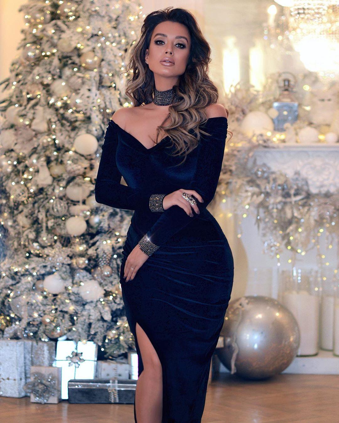 Самые красивые новогодние платья 2020 фото 8