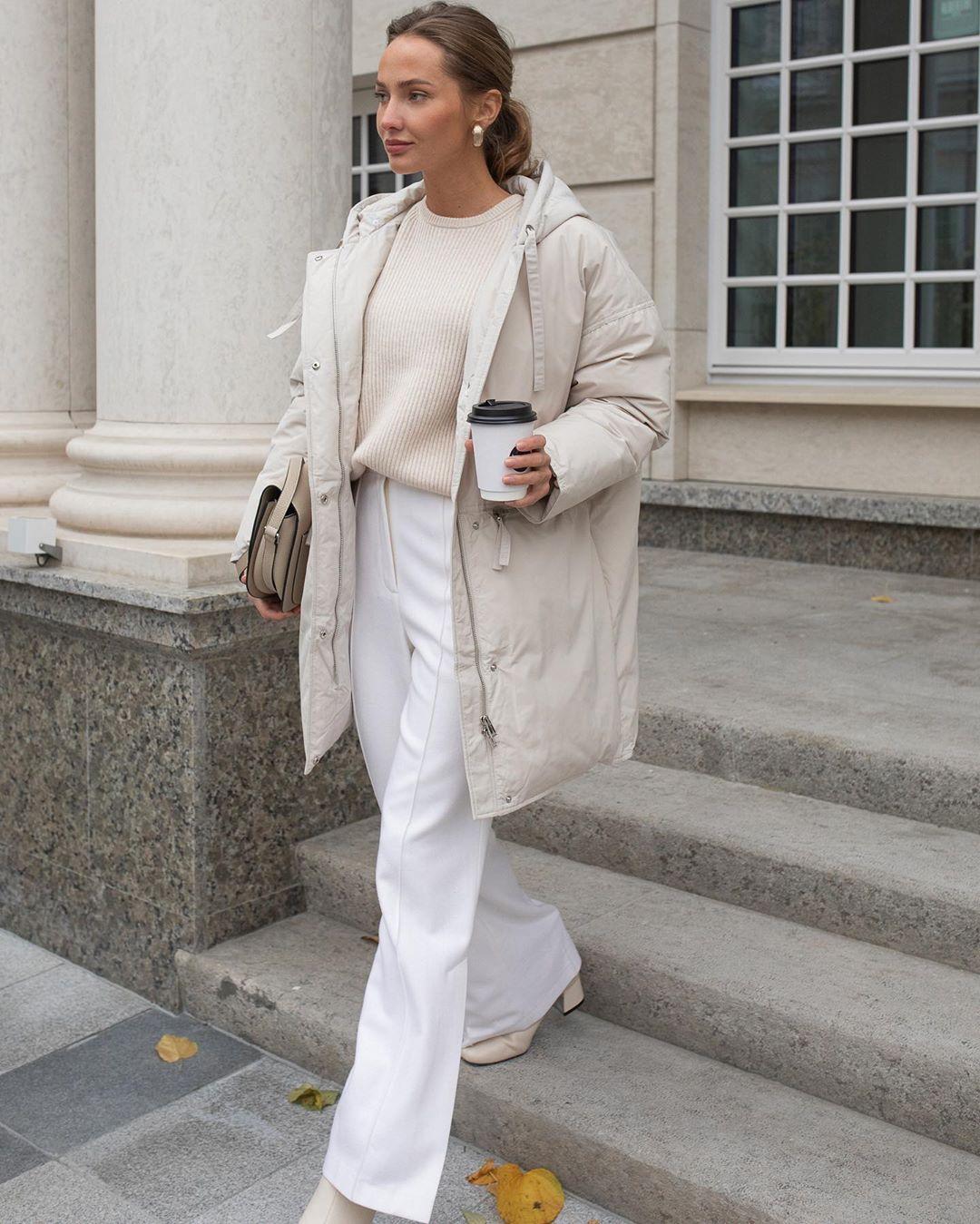 с чем носить брюки зимой фото 8