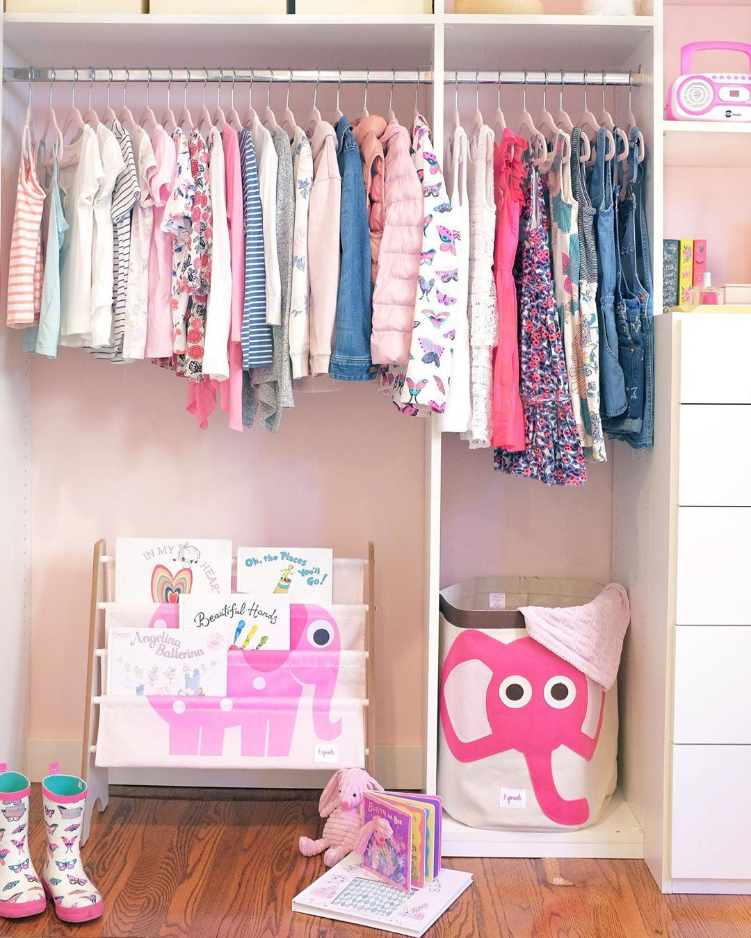 Организация пространства в гардеробной фото 1