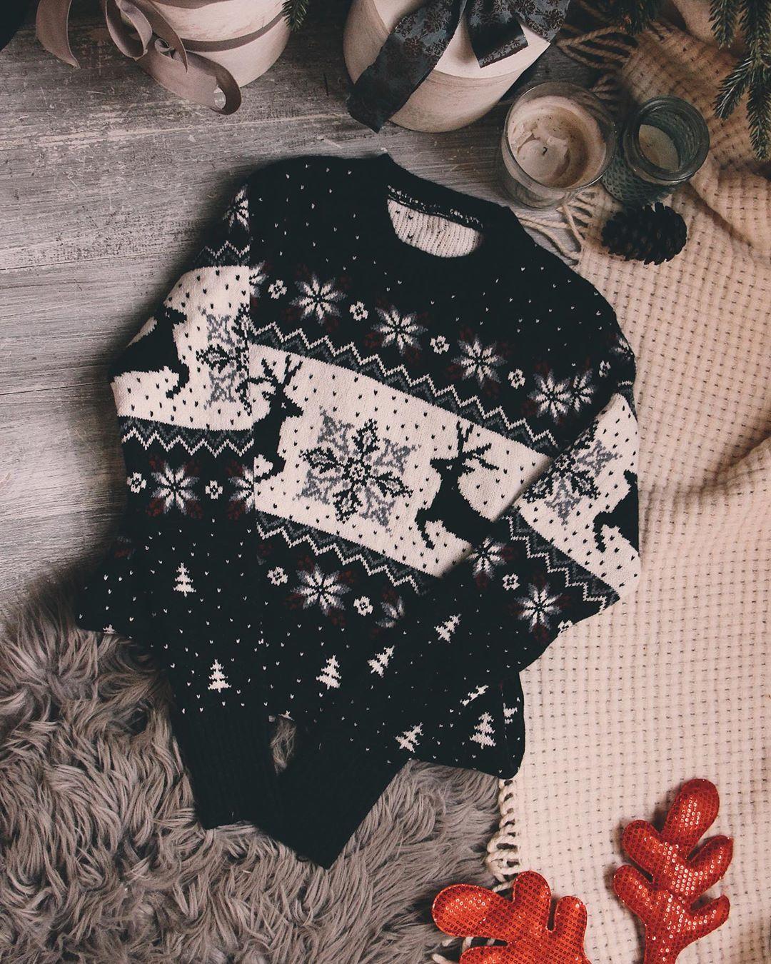 Новогодние свитера фото 1
