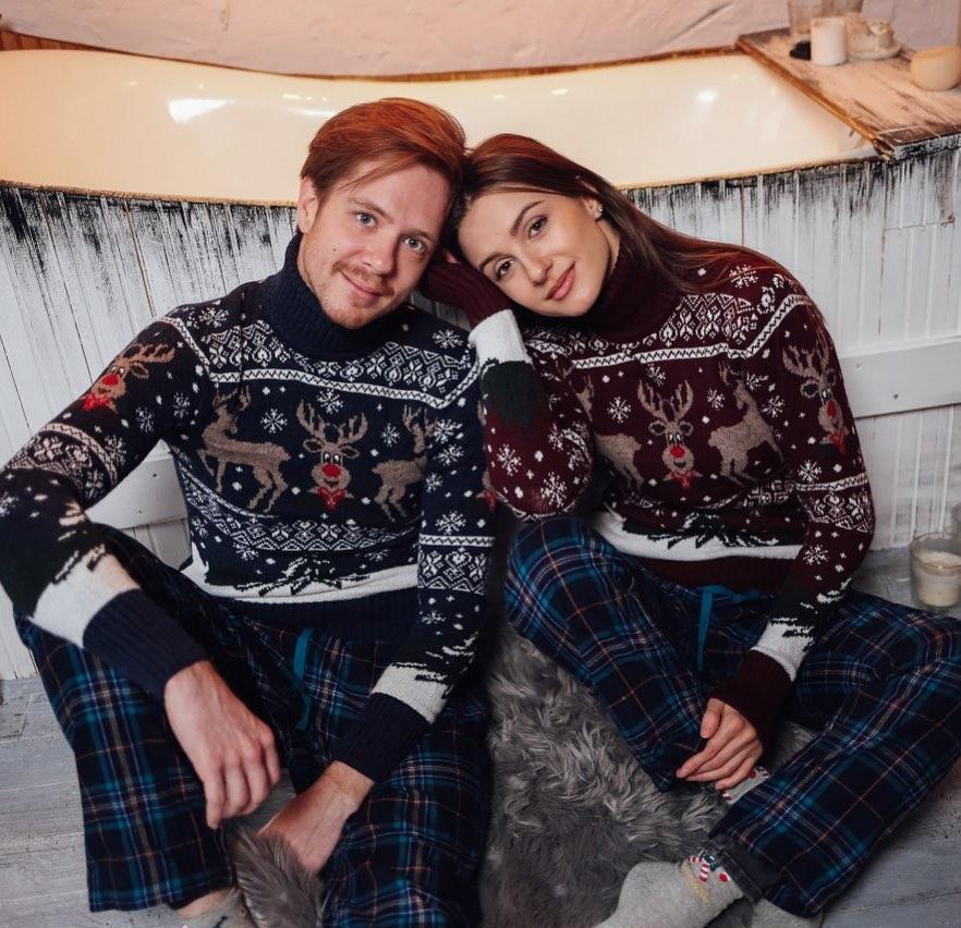 Новогодние свитера фото 7