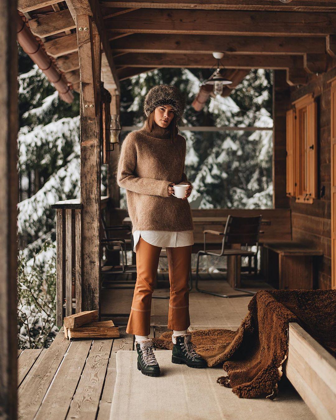 Зимний casual 2019 для женщин 40-50 лет фото 4