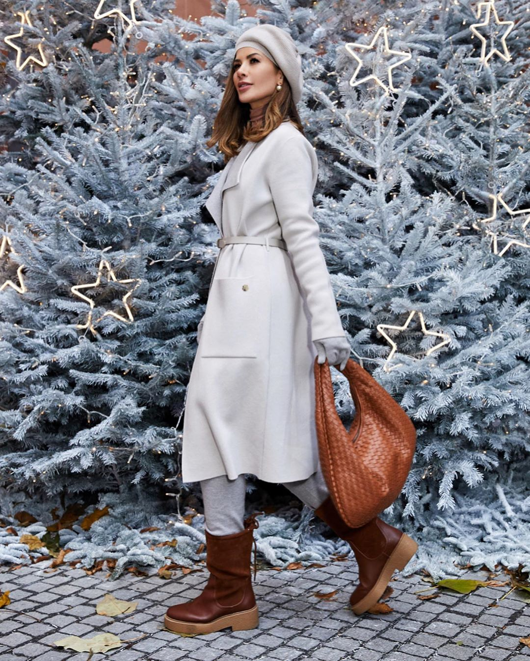 с чем носить пальто зимой фото 4