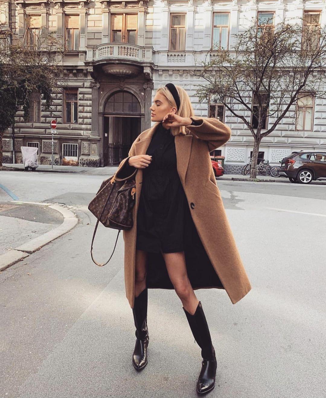 с чем носить пальто зимой фото 12