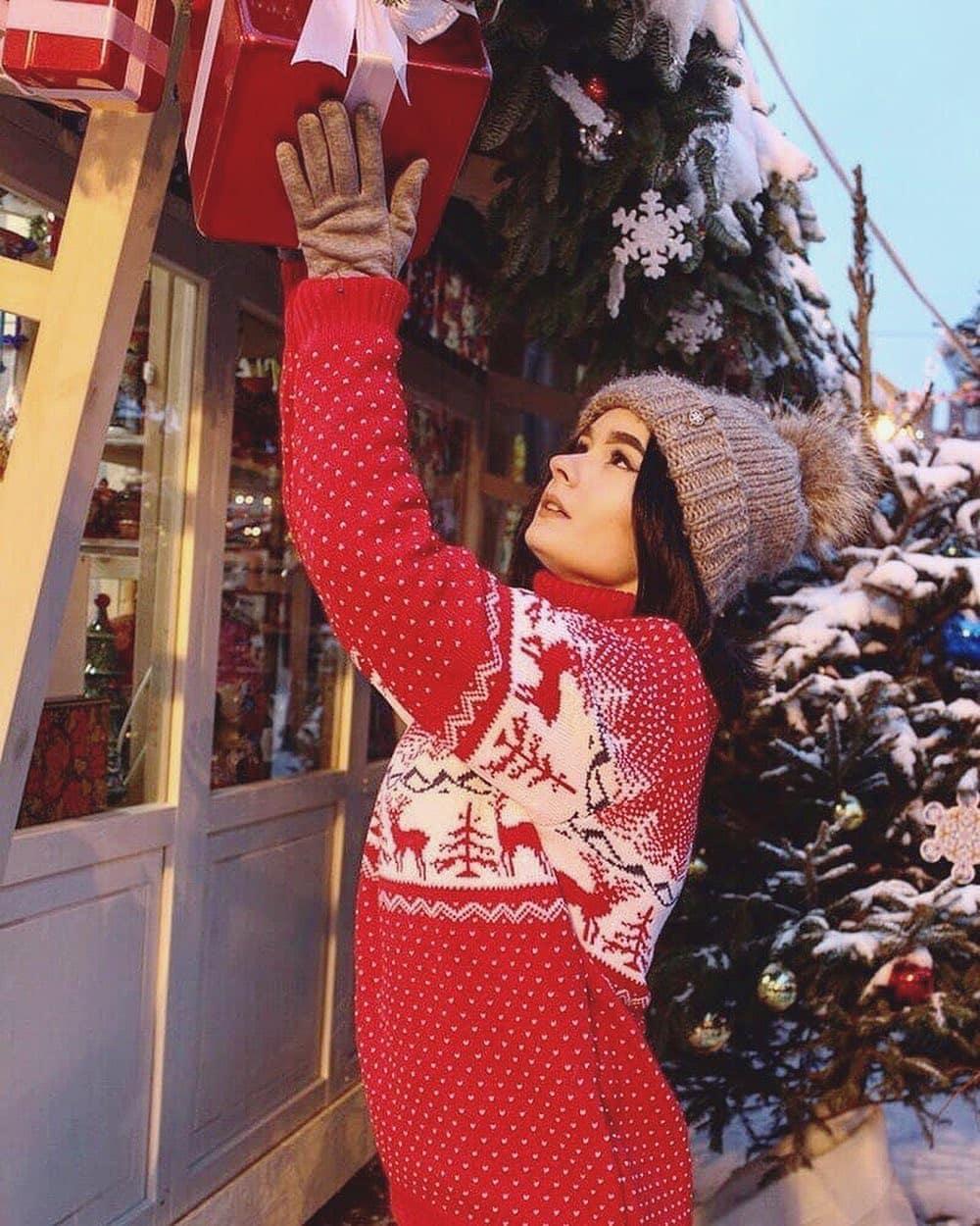 Новогодние свитера фото 9