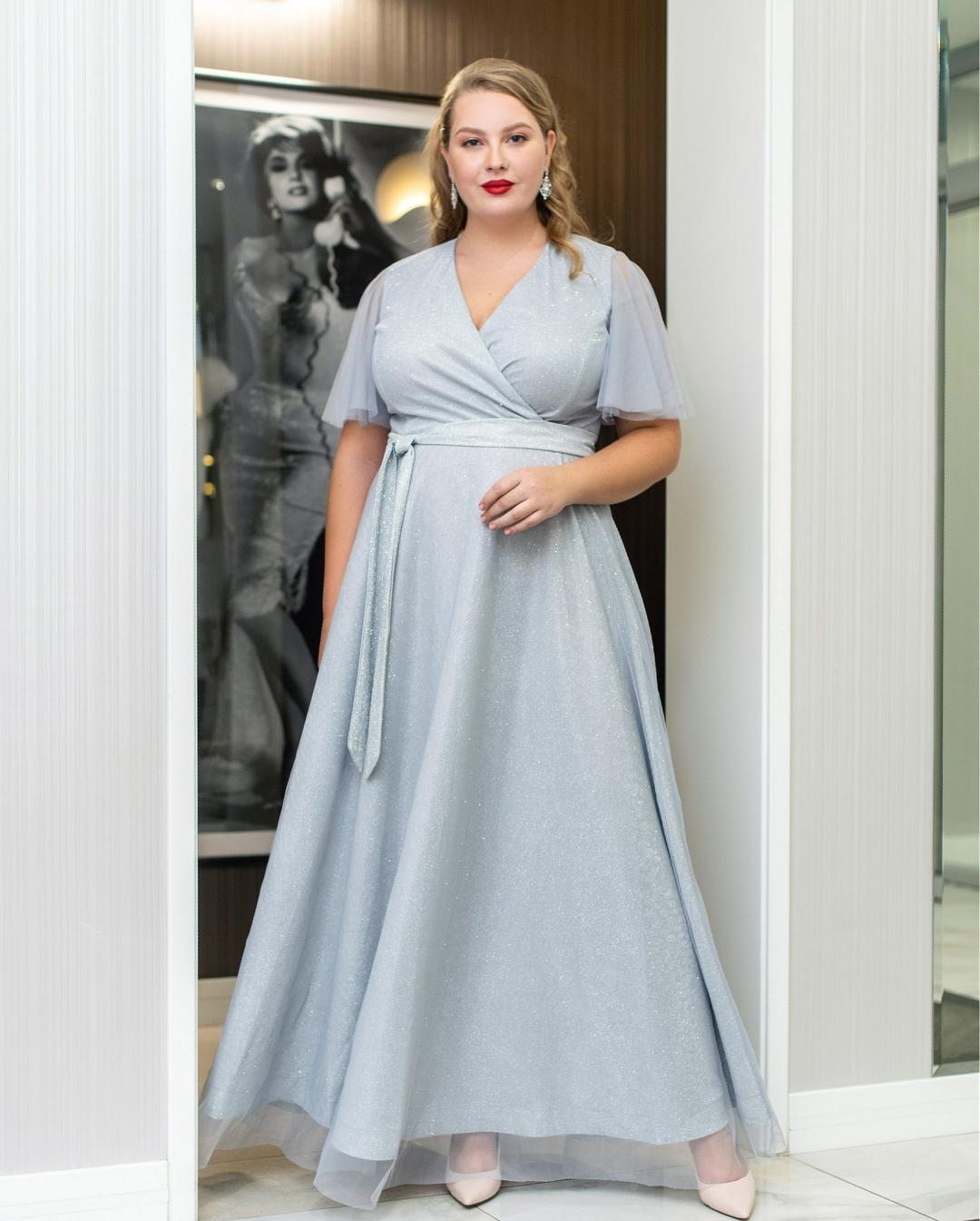 Платья для полных 50 лет фото 7