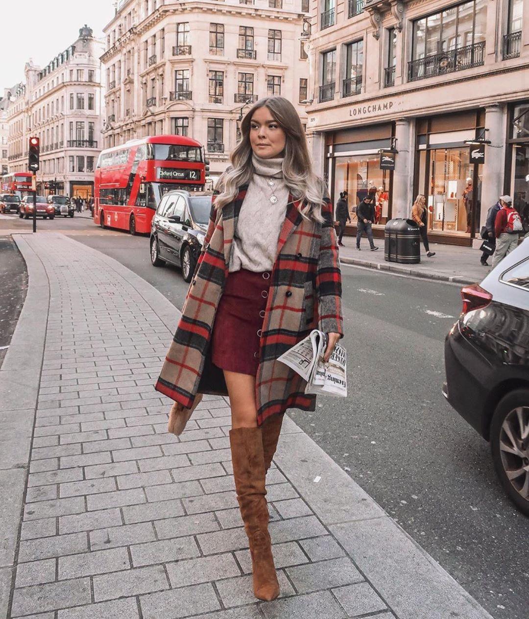 с чем носить пальто зимой фото 15