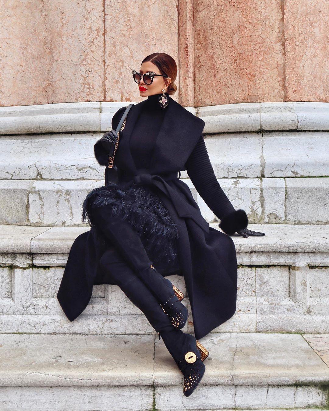 с чем носить пальто зимой фото 2