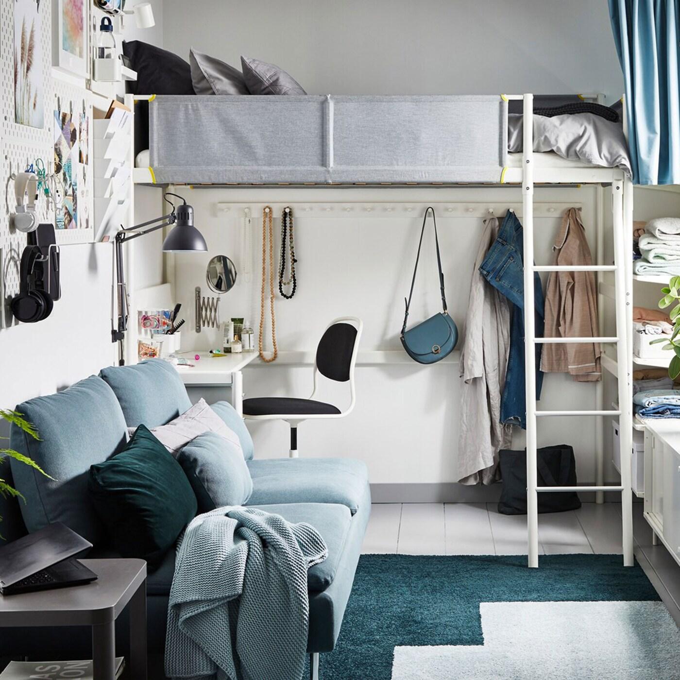 кровати в стиле лофт фото 13