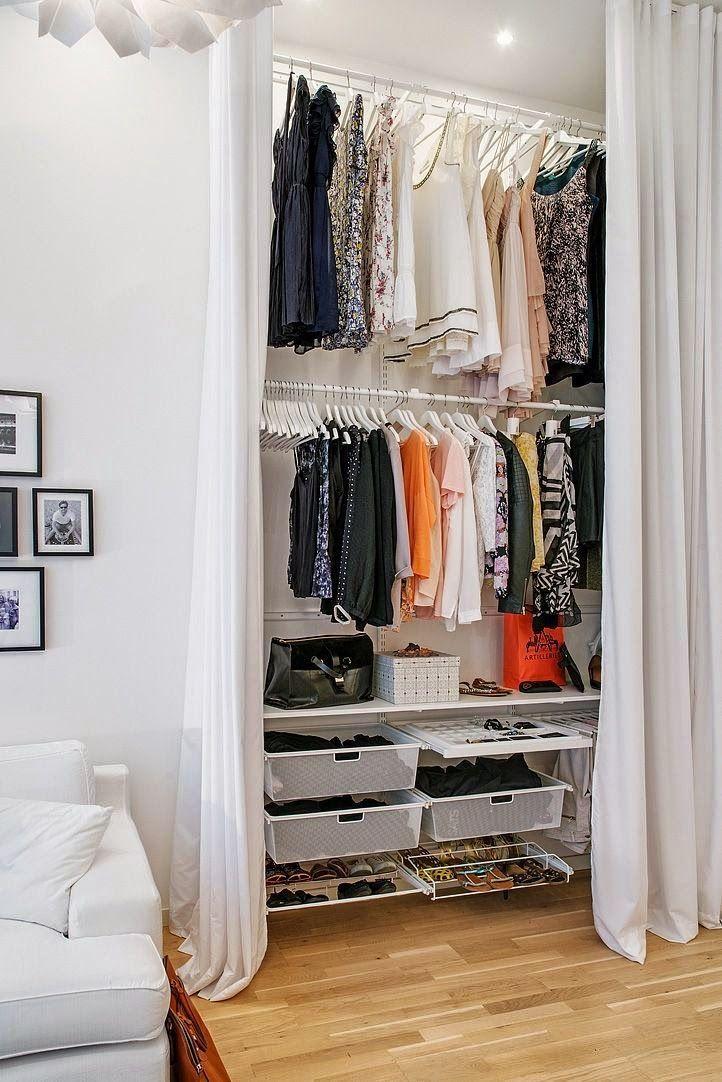 гардеробная в маленькой квартире фото 8