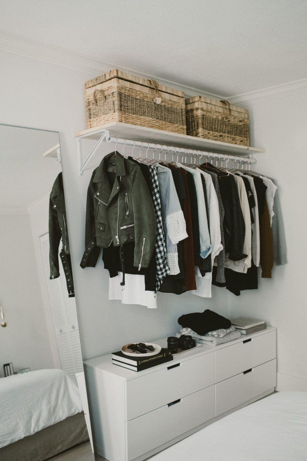 гардеробная в маленькой квартире фото 18