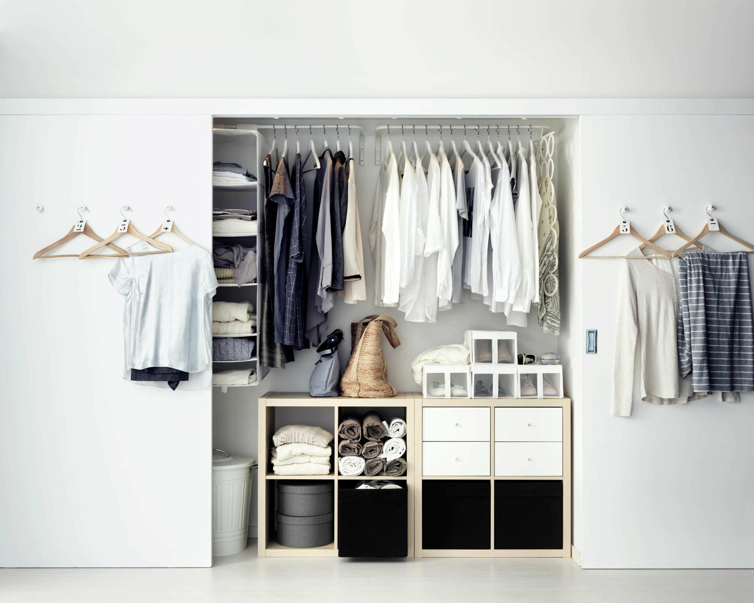 гардеробная в маленькой квартире фото 21