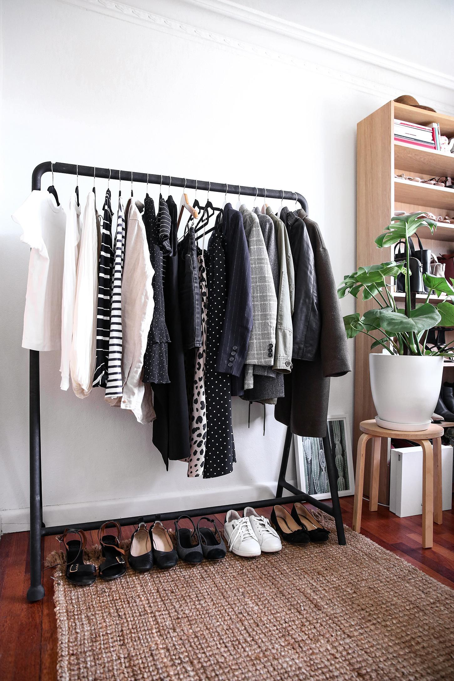 гардеробная в маленькой квартире фото 22