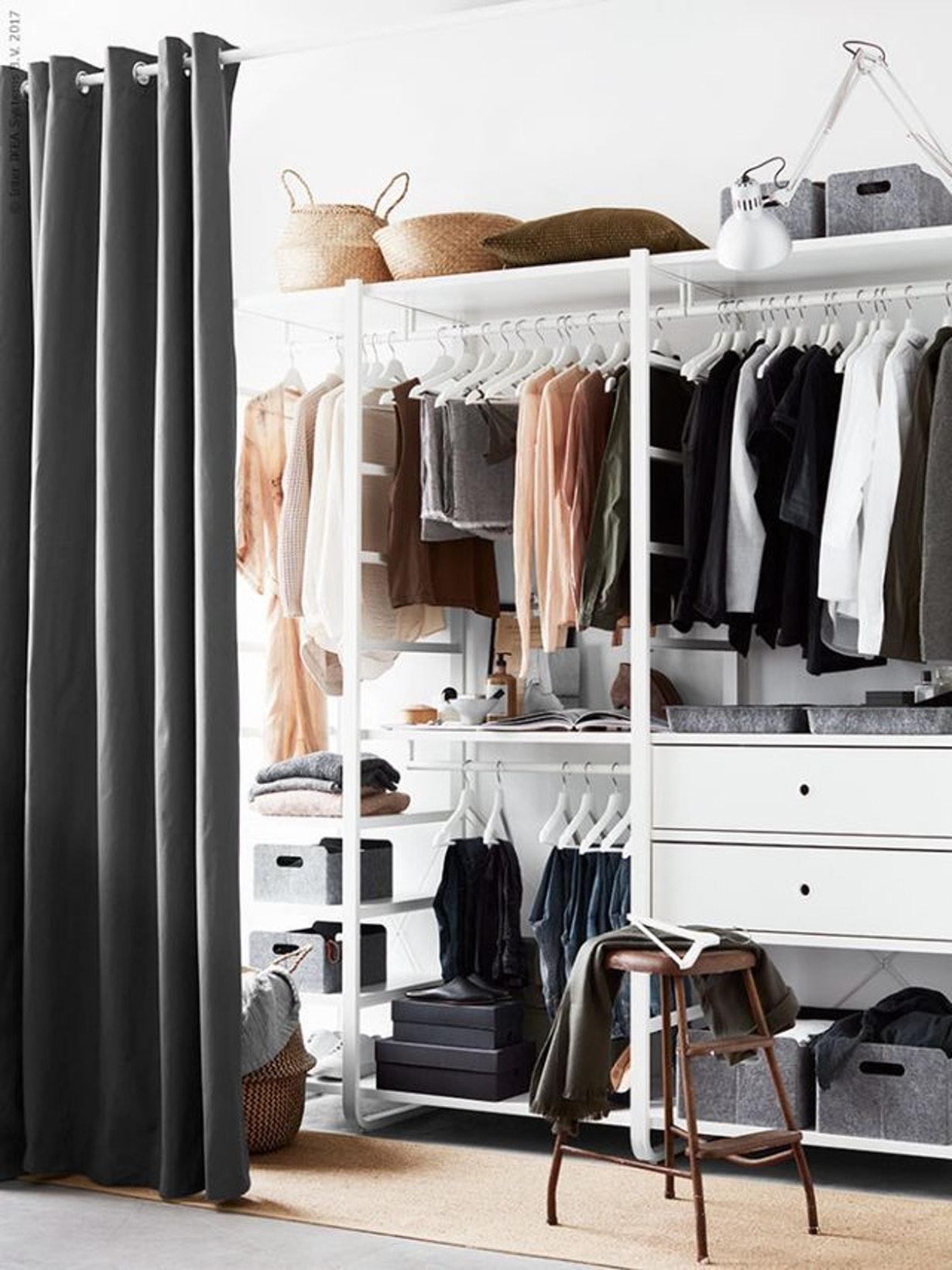 гардеробная в маленькой квартире фото 13