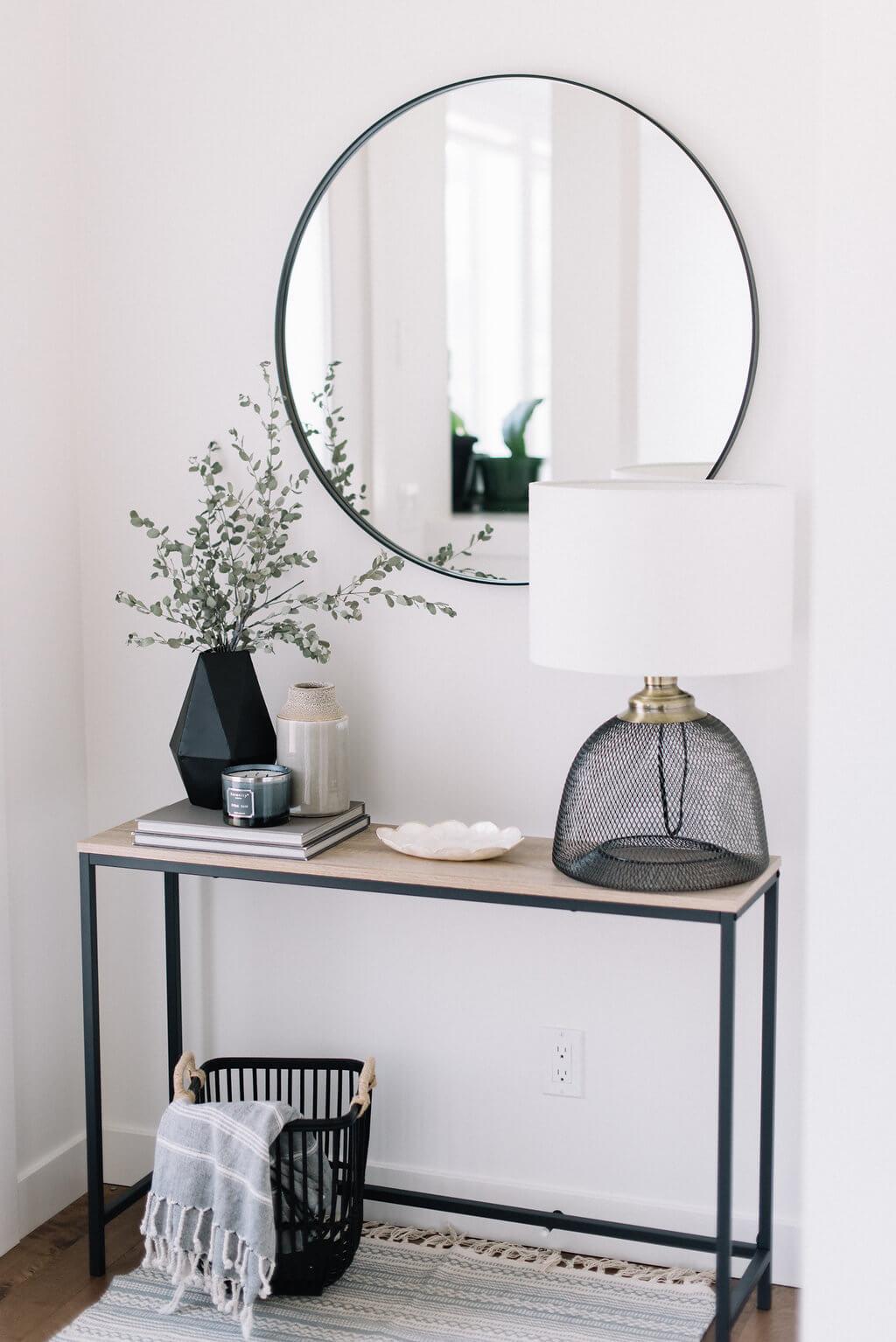 чёрно-белые идеи домашнего декора фото 7
