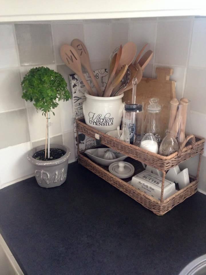 изобретательные идеи организации стола на кухне фото 3