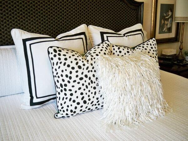 чёрно-белые идеи домашнего декора фото 9