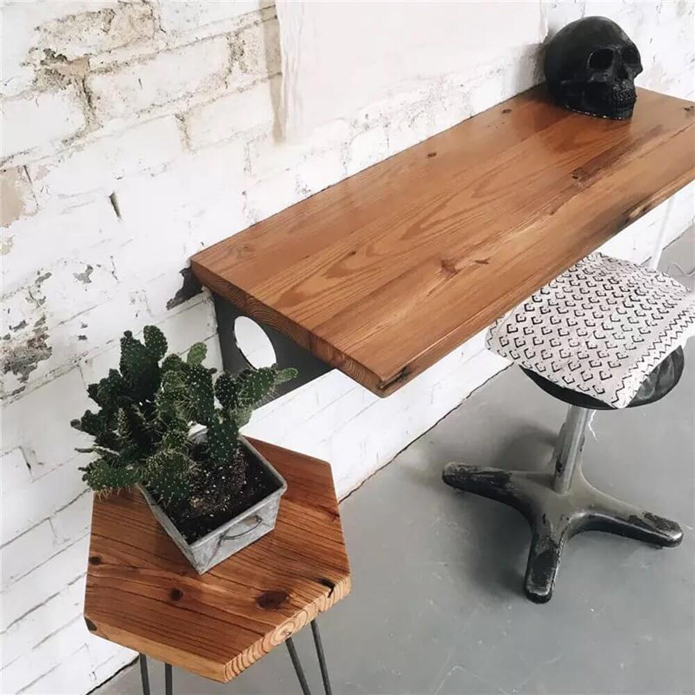 Настенный письменный стол фото 8