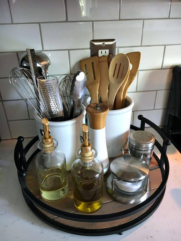 изобретательные идеи организации стола на кухне фото 7