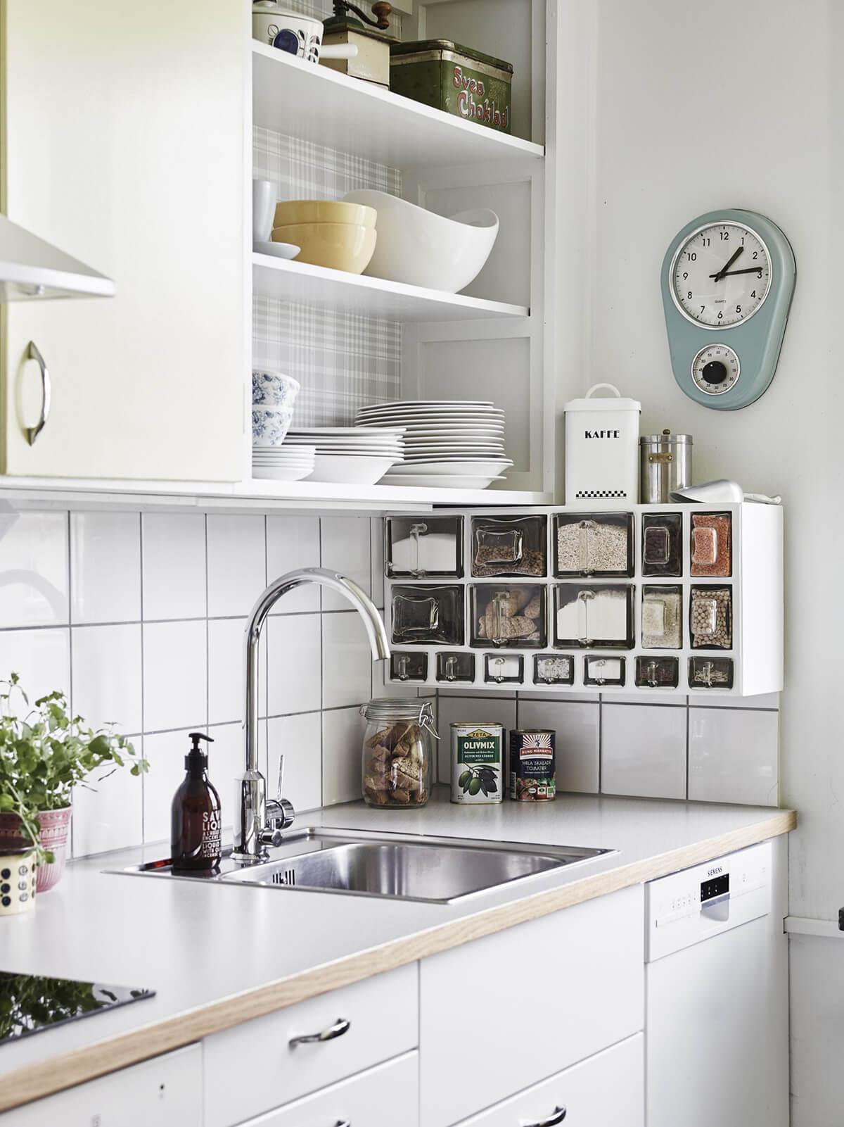 изобретательные идеи организации стола на кухне фото 8