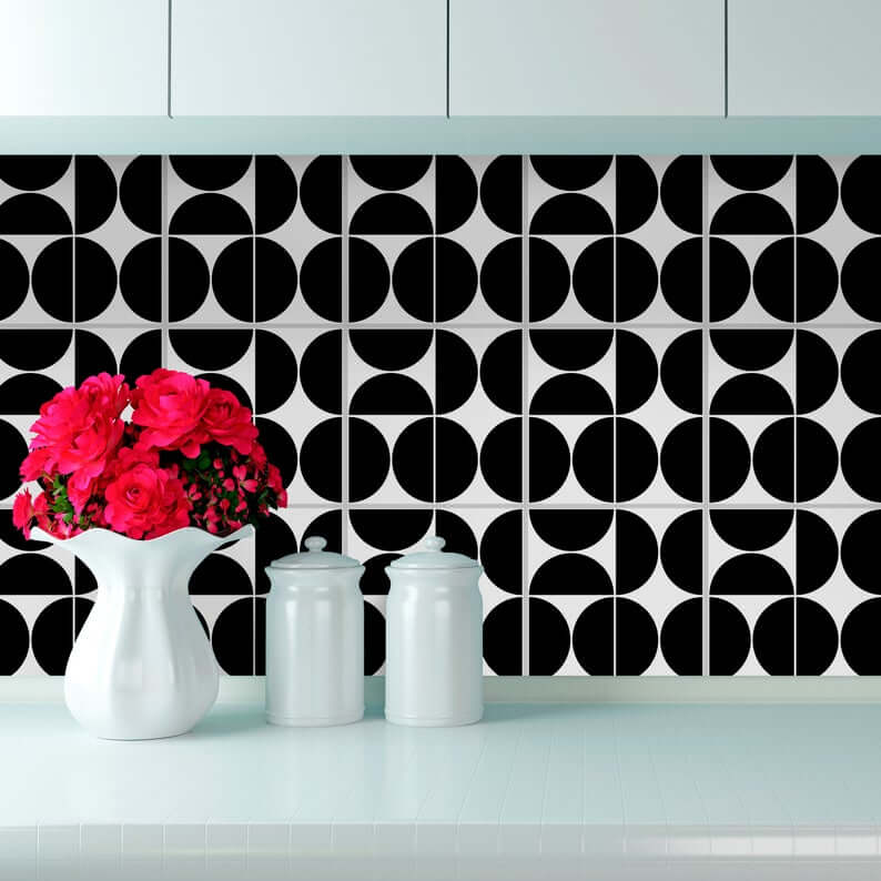 чёрно-белые идеи домашнего декора фото 4