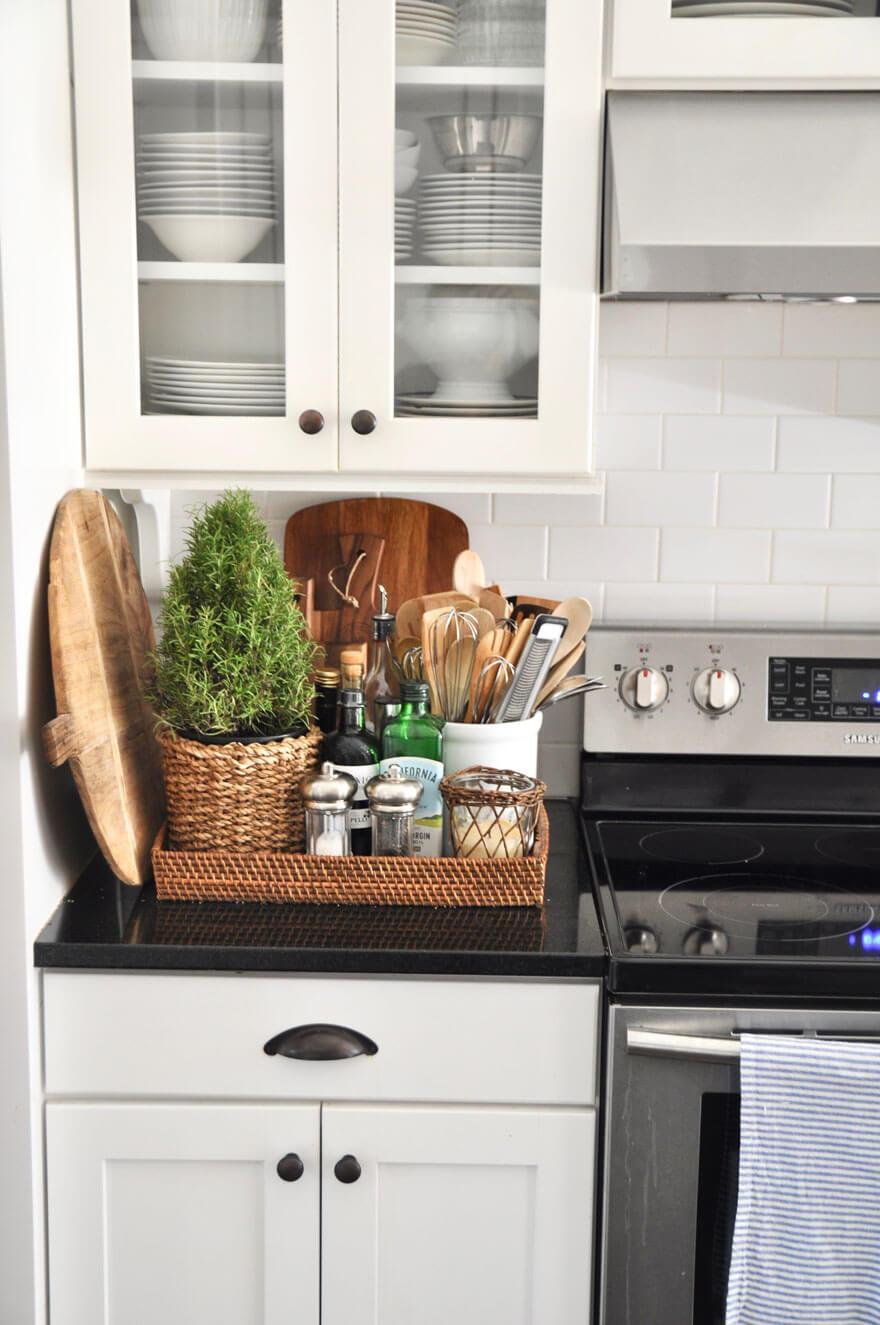 изобретательные идеи организации стола на кухне фото 9