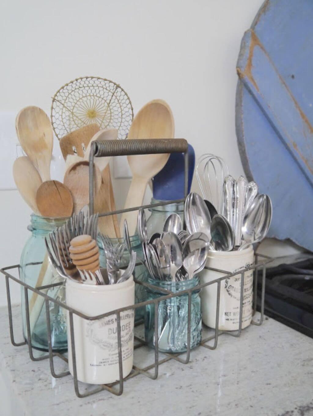 изобретательные идеи организации стола на кухне фото 11