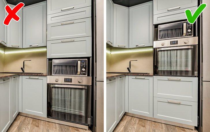 ошибки при проектировании кухни фото 1