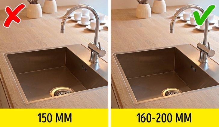 ошибки при проектировании кухни фото 3